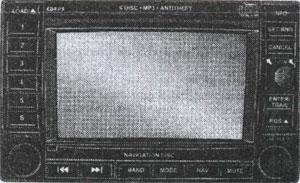 система навигации Chrysler 300C