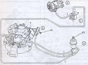 устройство холостого хода Citroen BX-14