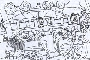 Крышка гбц Peugeot Partner