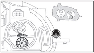 Лампы указателей поворота Citroen C-Elysee