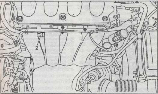 Топливопровод Citroen C5