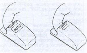 Панель управления Citroen C-Crosser