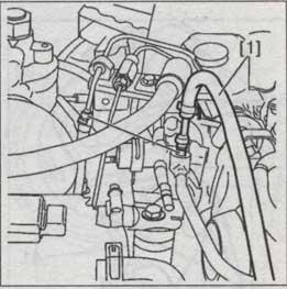 Шланг штуцера топливной системы Citroen C5