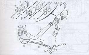 воздушный фильтр Citroen BX-14