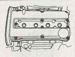 крышка ГРМ Daewoo Lanos, крышка ГРМ Chevrolet Lanos