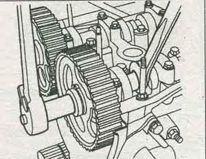 привод распредвала Daewoo Lanos, привод распредвала Chevrolet Lanos