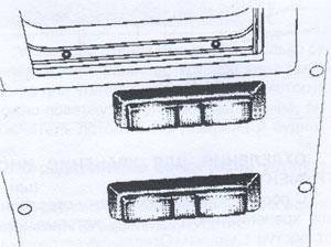 Плафон DAF 95XF