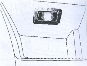 Подножка DAF 95XF