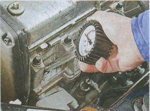 компрессия в цилиндрах двигателя Лада Гранта