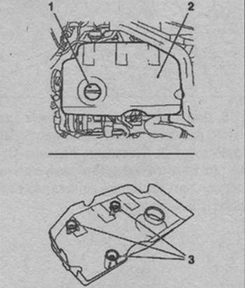 демонтаж масляного насоса Opel Astra H