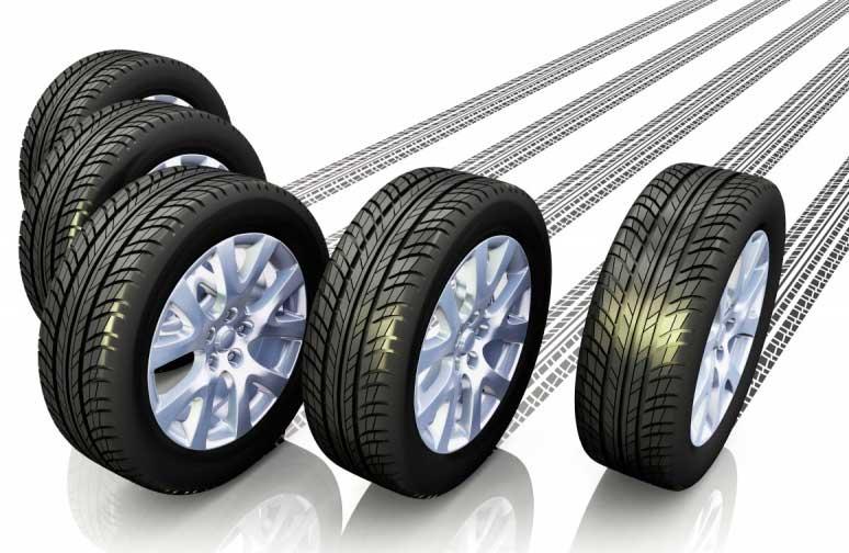 автомобильный диск, автомобильная шина