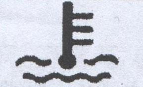 Индикатор перегрева охлаждающей жидкости FAW 1051