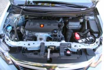 двигатель Honda Civic Sedan 2012, фото двигателя Honda Civic Sedan 2012