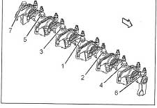 Клапанный механизм Caterpillar C-9