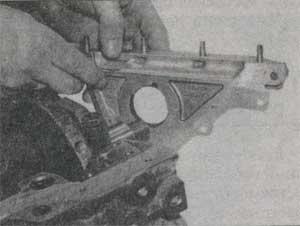 кожух переднего сальника коленвала Fiat Tipo, кожух переднего сальника коленвала Fiat Tempra