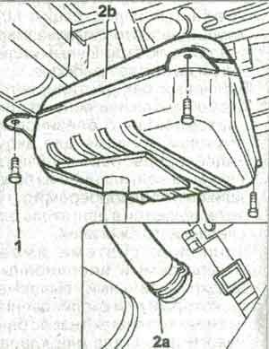 крепление бака Fiat Ducato