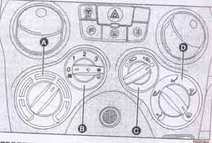 отопление Fiat Panda, отопление Panda 4x4