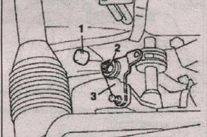 рычаг переключения передач Fiat Ducato