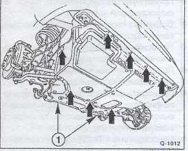установка нижнего кожуха Fiat Ducato, установка нижнего кожуха Peugeot Boxer, установка нижнего кожуха Citroen Jumper