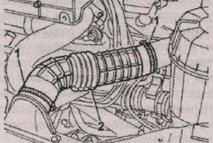 воздуховод Fiat Ducato