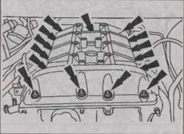 крышка блока цилиндров Ford Transit