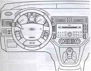 блок передачи сообщений Ford Focus C-Max