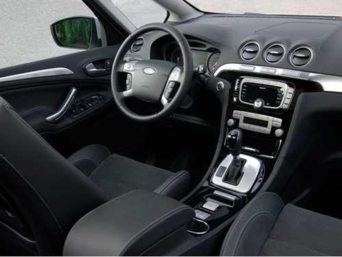 салон Ford Galaxy, S-Max