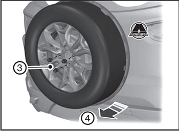 Гайки запасного колеса Ford Ecosport