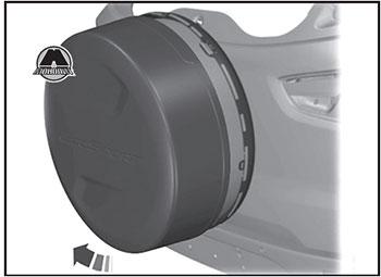 Хранение запасного колеса Ford Ecosport