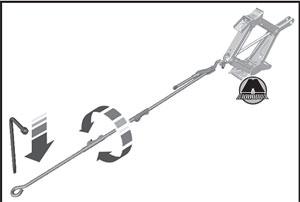 Кольцо домкрата Ford Tourneo Custom