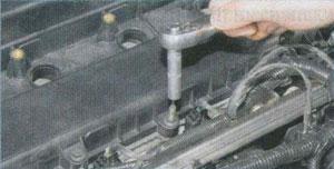 креплнеие блока цилиндров Ford Focus 2