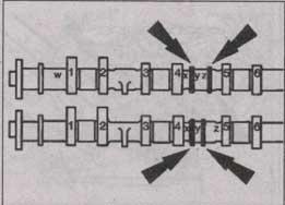 маркировка распределительного вала Ford Transit