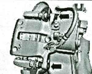положение элементов Ford S-Max