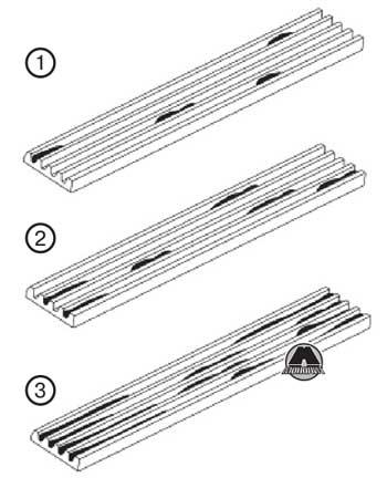 Ребра приводного ремня Ford Explorer