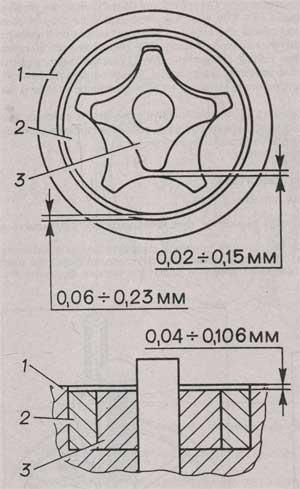 масляный насос ГАЗ 3309