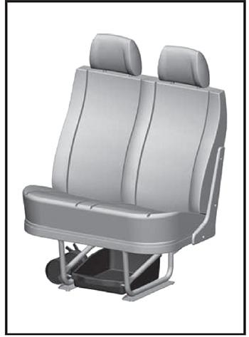 Сиденье пассажиров Газон Next
