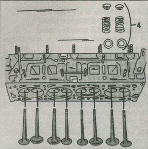 толкатели клапанов  Peugeot 806, регулировочные шайбы  Peugeot 806