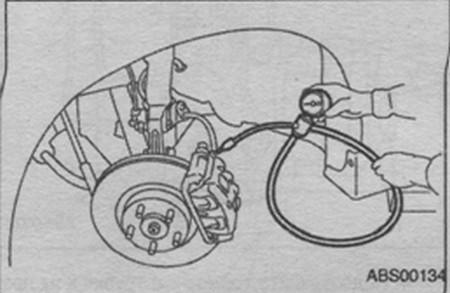 гидравлический узел системы ABS Subaru Impreza