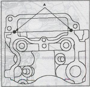 крышка блока цилиндров Honda Civic 5D