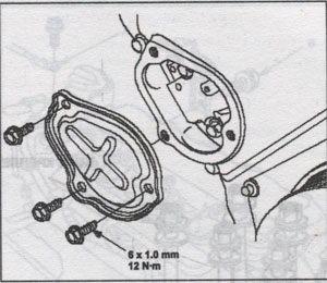 сальник картера Honda Civic 5D