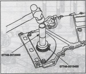 сальник привода грм Honda Civic 5D