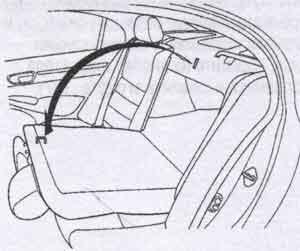 спинка сидения Honda Civic