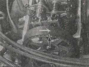 метки на звёздочке приводного ремня Honda Civic