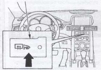выключатель электрообогревателя заднего стекла Honda Legend, выключатель электрообогревателя заднего стекла Acura TL