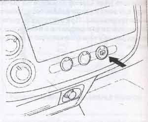 выключатель электрообогревателя Honda Civic