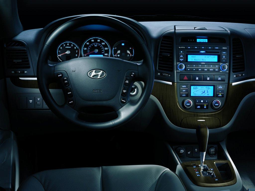 салон Hyundai Santa Fe