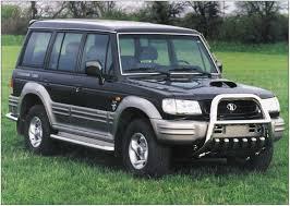 Автомобиль Hyundai Galloper I, автомобиль Хюндай Галопер 1