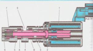 Электромагнитный клапан Hyundai Solaris