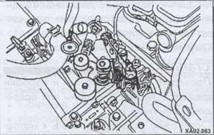 механизм коробки передач Hyundai Accent