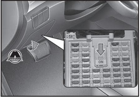 Переключатель предохранителей Hyundai Creta